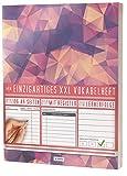 Mein Vokabelheft / 100+ Seiten, 2 Spalten, Register / Lernerfolge auf jeder Seite zum Abhaken / PR101