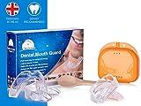 Time2Sleep Bite Dentale Automodellante: 4 x Bite Bruxismo Notturno Automodellante con Porta Bite Dentale, Dispositivo Anti Russamento e Anti Digrignamento dei Denti