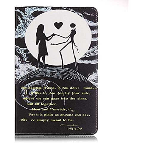Custodia per Samsung Galaxy Tab A 9.7 T550 ,Cozy Hut Una varietà di modelli dipinti modelli Pattern PU Pelle Cover Stand Flip Custodia Cover per Samsung Galaxy Tab A 9.7 T550 -Le donne e l