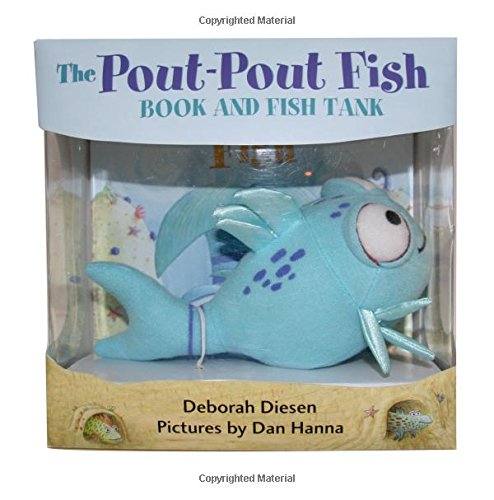 The Pout-Pout Fish Book and Fish Tank [With Plush] (Book & Plush Fish)