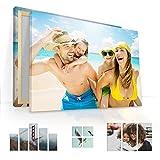 malango® Foto auf Leinwand JETZT SELBST GESTALTEN - handgefertigt auf 2 cm Keilrahmen 1-Teiler Klassisch 60 x 40 cm mit eigenem Foto