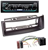 caraudio24 JVC KD-DB902BT CD DAB MP3 USB Bluetooth Autoradio für Renault Megane Scenic bis 03 schwarz