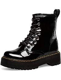 7245fe4a1e936 Amazon.es  Charol - Cordones   Botas   Zapatos para mujer  Zapatos y ...