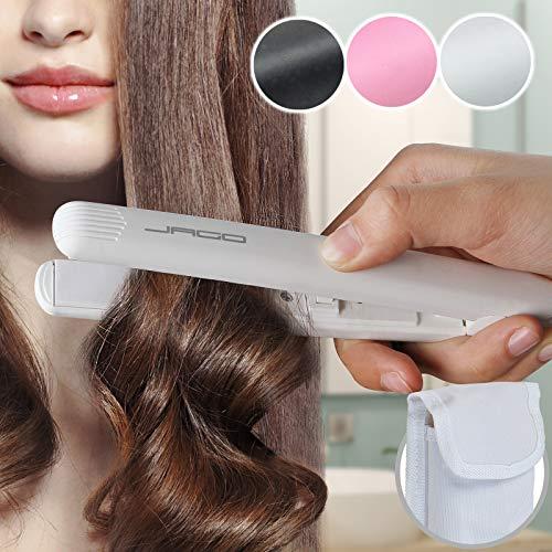 Jago - Mini Fer à Lisser Lisseur à Cheveux avec Plaques en Céramique (Coloris au Choix)
