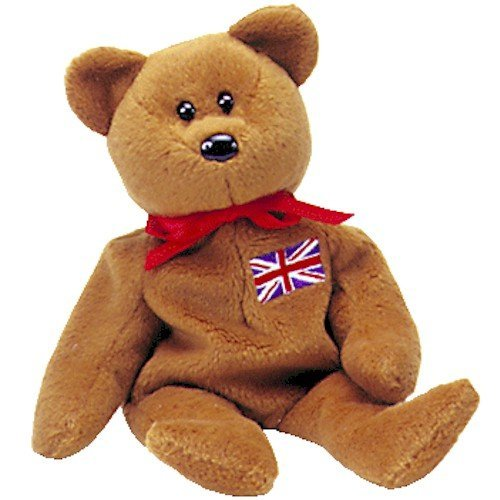 TY Beanie Baby - BRITANNIA the Bear (UK Exclusive) by Ty Teenie Beanie Baby