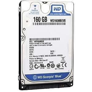 WD Scorpio Blue 160GB EIDE 8MB Cache 2.5 inch Internal Hard Drive OEM