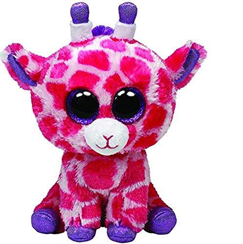 """Beanie Boo Giraffe - Twigs - Pink - 15cm 6"""""""