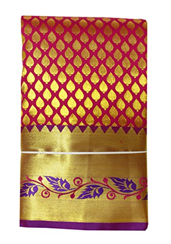 SARAVANABAVA SILKS Saree With Blouse Piece (SRBS000164_Red_Free Size)