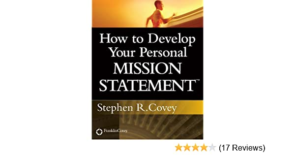 what is your personal mission statement