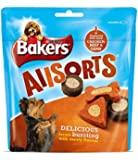 Bakers All sorts Chicken Dog Treats Beef and Lamb, 98 g - Pack of 6