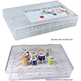 caja contenedora para hilo de coser para 50 espoletas de alambres