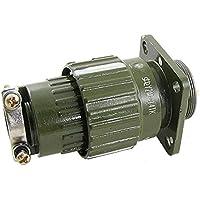 sourcingmap® Y2M-14TK AC 500 V placcato oro 14 pin connettore circolare