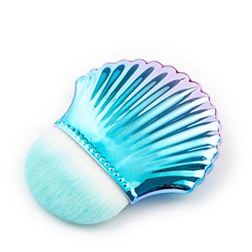 MEIbax Shell Grundlagen Puder Make upbürsten Shell Konturn Puder Erröten Bürsten-Werkzeuge//Make-up Pinsel Puder Blush Make-up Kosmetik Pinsel Werkzeug (B)