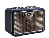 Laney - Amplificateur de Guitare Série MINI à Piles avec Interface Smartphone ST Lionheart Stereo bleu