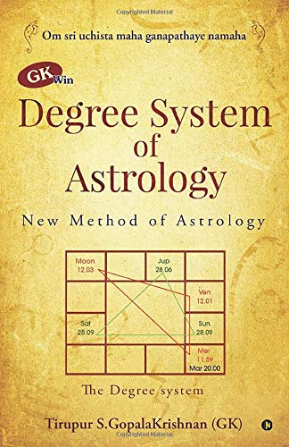 GK win Degree System of Astrology: New Method of Astrology