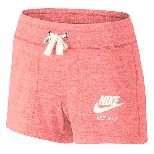preisvergleich nike damen gym vintage shorts rosa. Black Bedroom Furniture Sets. Home Design Ideas
