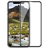 TENDLIN iPhone X Panzerglas Schutzfolie Full Cover Staubdicht Einfache Installation Premium Gehärtetes Glas Displayschutz für Apple iPhone X