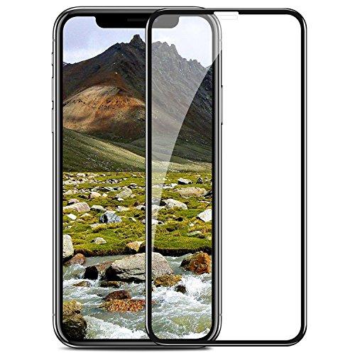 Screen Handy (TENDLIN iPhone X Panzerglas Schutzfolie Full Cover Staubdicht Einfache Installation Premium Gehärtetes Glas Displayschutz für Apple iPhone X)