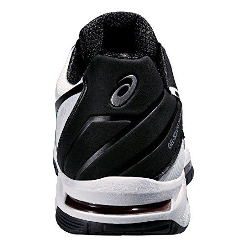 Asics Gel-Solution Speed 3 Tennisschuh Herren weiß / schwarz