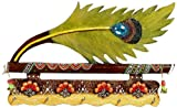 Aapno Rajasthan Bansuri and Peacock Feather Key Holder