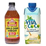 #7: Bragg Organic Apple Cider Vinegar 16 oz, with Free 1 VitaCoco Natural Coconut water 330 ml