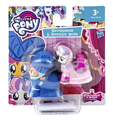 My little Pony Friendship is Magic Sammel- und Spielfiguren 9 cm (Scootaloo & Sweetie Belle)