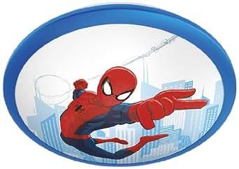 Philips Plafonnier LED Marvel SpiderMan Chambre d'Enfant Matière Synthétiques