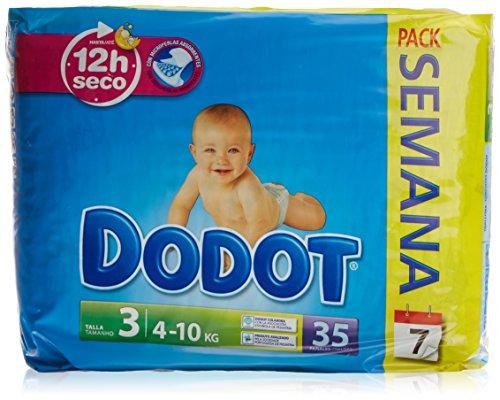 Dodot - Pañales para bebés - Talla 3-35 unidades