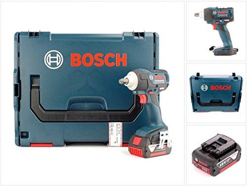 Preisvergleich Produktbild Bosch GDS 18 V-EC 250 Professional Akku Drehschlagschrauber + 1 x GBA 18 V 5 Ah Akku in L-Boxx