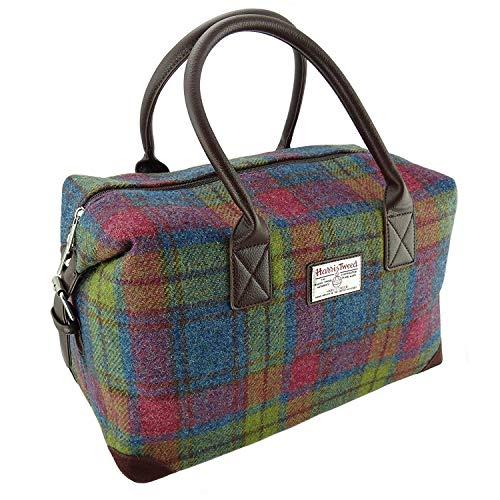 Glen Appin Authentisch Harris Tweed Reisetasche Übernachten Reisetasche - Farbe 46, 33cm H x 52cm W x 30cm D