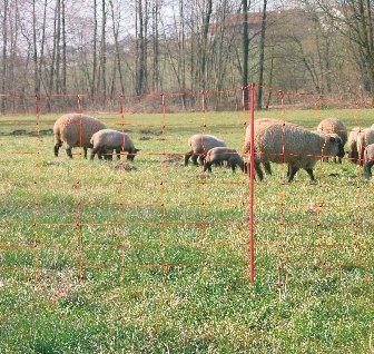 Elektrozaun 108 cm x 50 m Weidezaun Gartenzaun Schafnetz von UNIVERSAL - Du und dein Garten