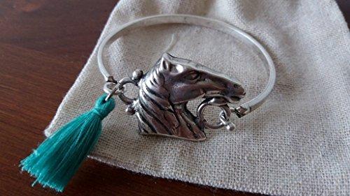 pulsera-rigida-caballo-espanol