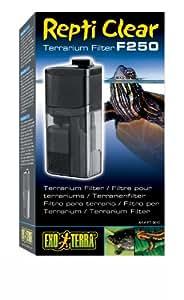 Exoterra Filtre Repti Clear 250 Debit 240 L/H pour Reptiles et Amphibiens