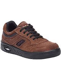 Paredes dp103MA36ecologico serraje–Zapatos de trabajo O1talla 36MARRÓN