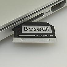 "BaseQi MicroSD adaptador de aluminio para MacBook Pro 15 ""Retina (finales de 2013 en Adelante)"