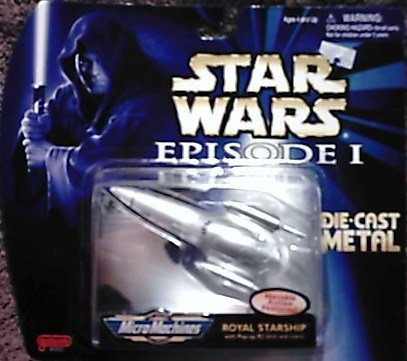 Star Wars - Episode 1 - Royal Starship - Micro Machines - Die Cast Metal - Limited Edition
