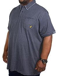 Kangol Herren Poloshirt blau navy XX-Large