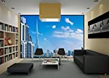 Startonight Fototapete Kunstdruck Burj Khalifa, Dubai, Wandbild Großformatige Modern Muster Dekorative Kunst Wand 256 x 366 CM