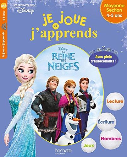 Je joue et j'apprends Reine des Neiges 4-5 ans par Sandra Lebrun et Loïc Audrain