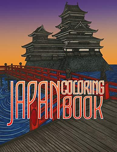 JAPAN COLORING BOOK: Kimonos