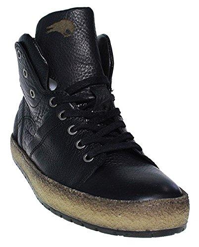 Mjus, Sneaker uomo nero nero, nero (nero), 43