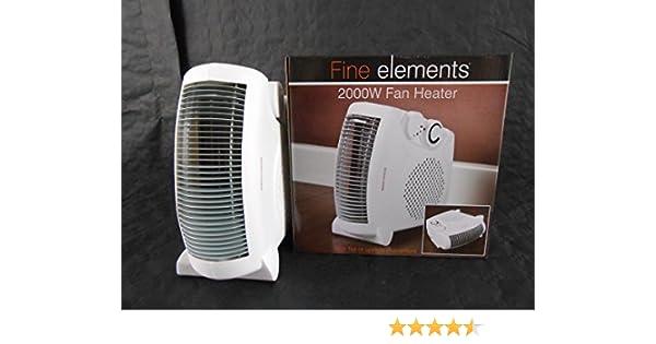 Fine Elements 2000w Fan Heater: Amazon