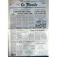 MONDE (LE) [No 14191] du 12/09/1990 - M. SADDAM HUSSEIN MULTIPLIE LES INITIATIVES POUR TENTER DE CONTOURNER L'EMBARGO - TIMIDE RECONCILIATION - LA CONFUSION S'ACCROIT APRES LA MORT DU PRESIDENT LIBERIEN - LA DETENTE EN EXTREME-ORIENT - LES DEBOIRES DE L'INDUSTRIE FRANCAISE EN RDA - RENTREE SCOLAIRE - SCORSESE ET LA MAFIA - LE MONDE INITIATIVES - L'EUROPE DE L'EST DESENCHANTEE PAR SYLVIE KAUFFMANN - UN ENTRETIEN AVEC LE PRESIDENT DU CSA PAR PIERRE-ANGEL GAY ET JEAN-FRANCOIS LACAN.