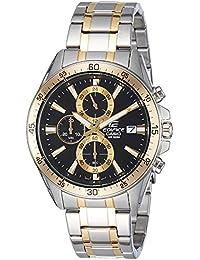 Casio Edifice Chronograph Black Dial Men's Watch - EFR-546SG-1AVUDF (EX236)