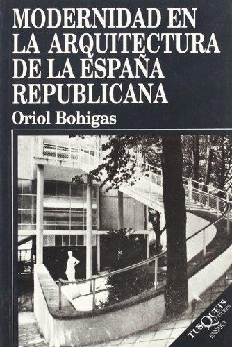 Modernidad en la arquitectura de la España republicana (Justflutes)