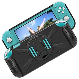 Schutzhülle für Nintendo Switch Lite, FASTSNAIL 2in1 Case Cover – Holder Switch Lite