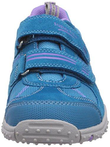 Superfit SPORT4 400224 Mädchen Sneakers Blau (TÜRKIS 90)