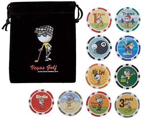 Vegas Golf auf dem Golfplatz Golf Spiel, 10-chip Version With Lost Ball, Regular