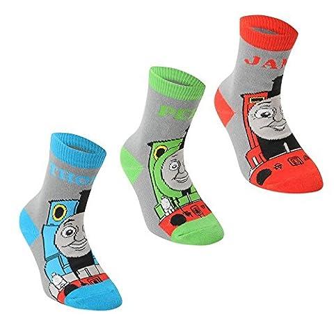Kids moteur Character Lot de 3 Paires de chaussettes pour garçon chaussures et accessoires