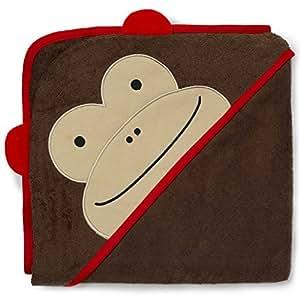 Skip Hop SKI-ZOO-TOWEL-MONKEY Zoo Hooded Towel Monkey